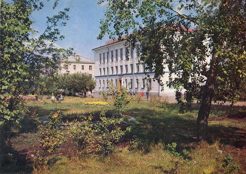 Летов в городе Котлас, 1982