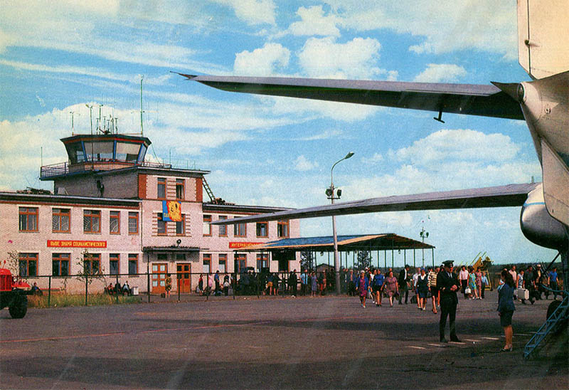 Аэропорт Котлас, 1982